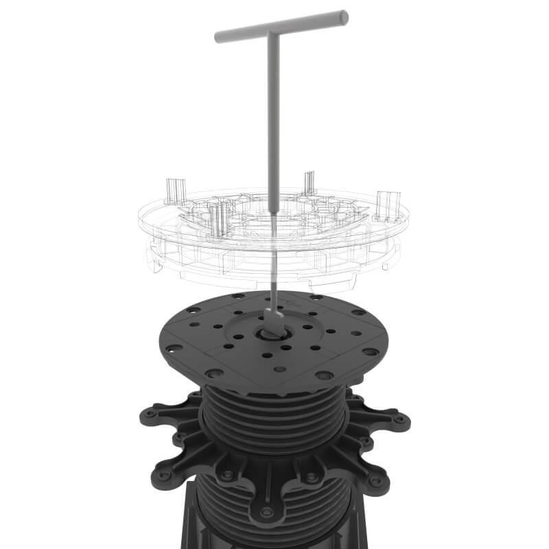 Buzon U-GRIP-50/65 tegelklem 50-65cm